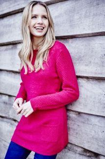 Essential Tunic - Dark Pink