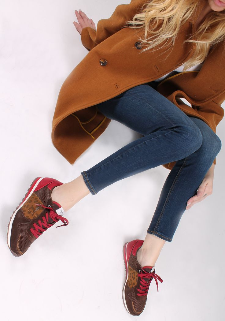 Fashionable Sneakers! Pepe Jeans @giannakazakou