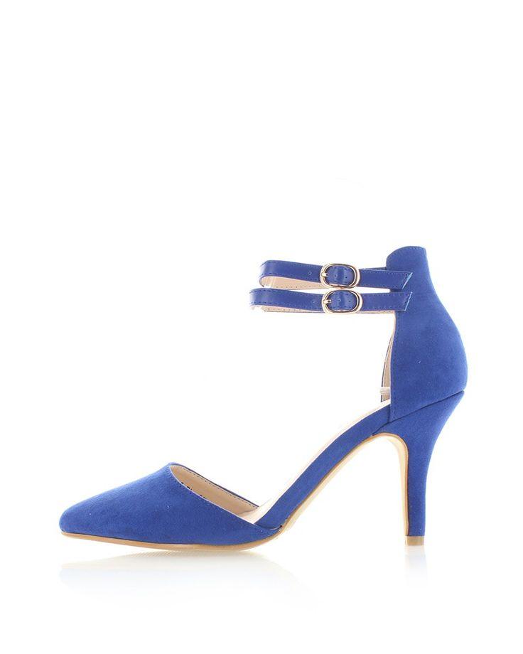 Modré lodičky Goldiga