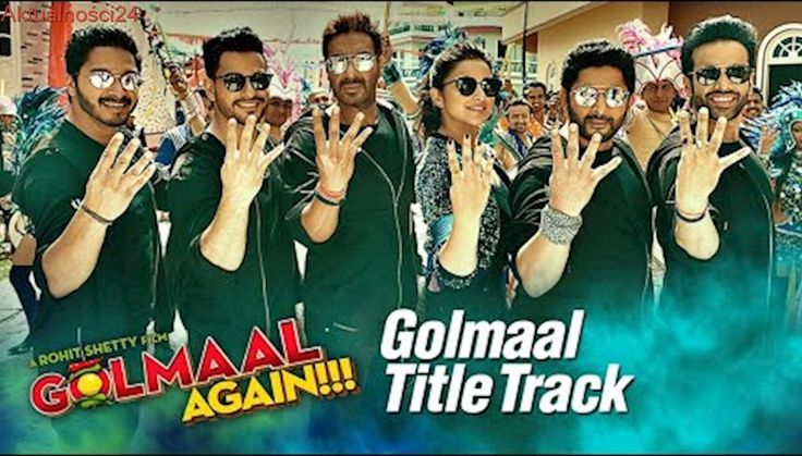 Golmaal Title Track (Video)   Ajay Devgn  Parineeti   Arshad   Tusshar   Shreyas   Kunal   Tabu