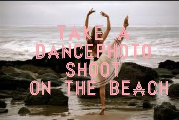One of my bucket list items!!! And it will happen this summer!!!(: I'm going to Long Beach, California (without my parents) staying at a beach house for a dance intensive for A WEEK....with my best friends!!! I'm so excited!!!!