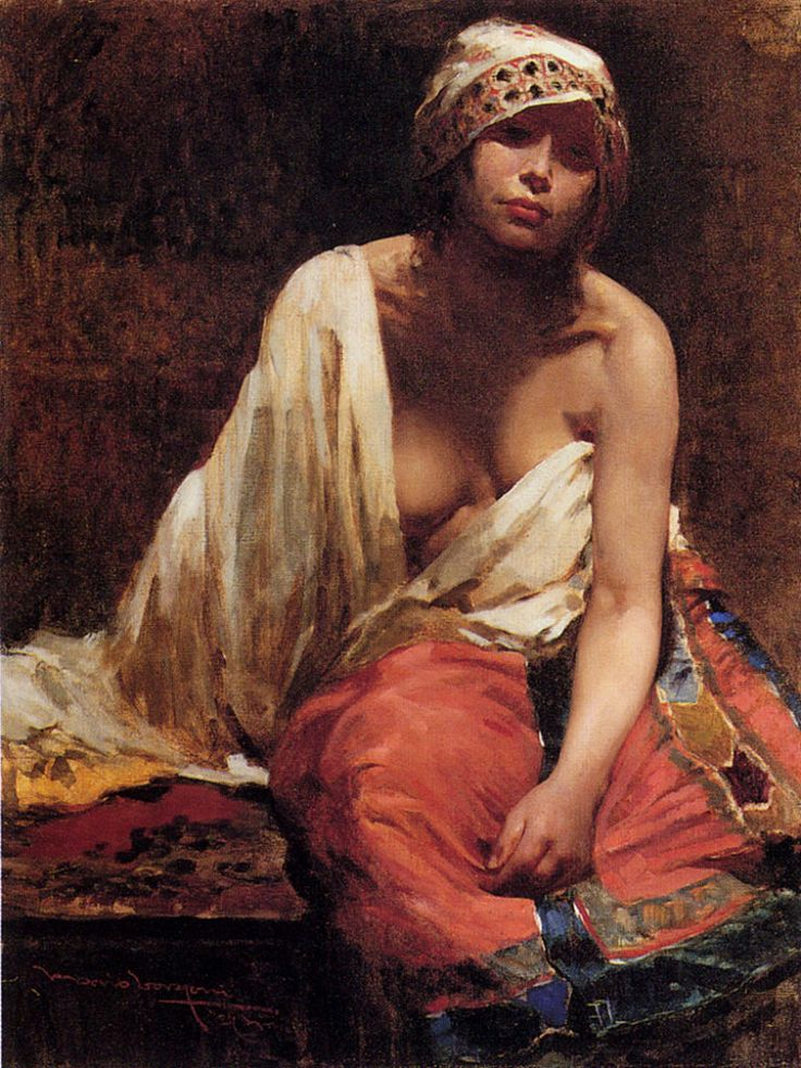 Borrani, Odoardo, (1833-1905), Member of The Macchiaioli