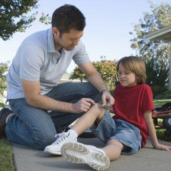 Vídeos para aprender a curar heridas y hemorragias en los niños.
