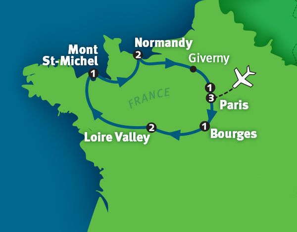 d-day tours rick steves
