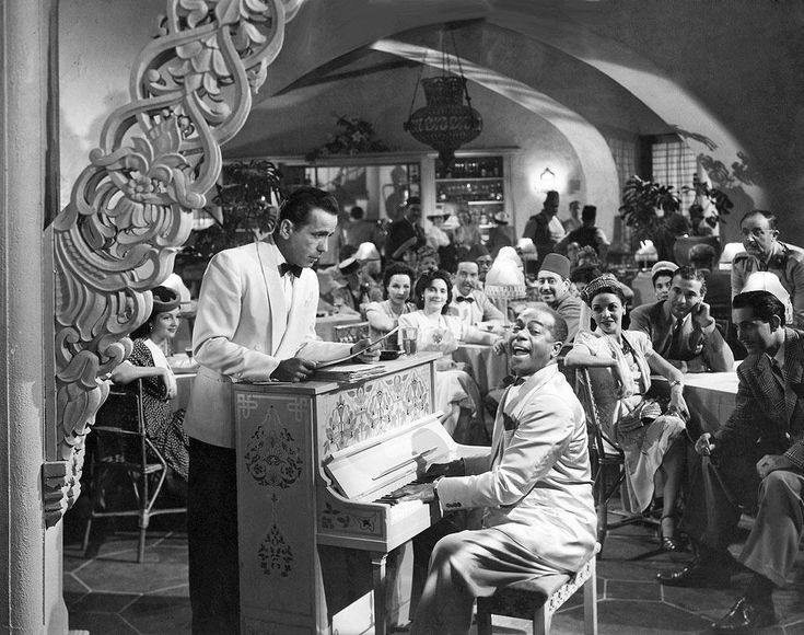 """SOLD! The piano played a major role in Casablanca the classic 1942 film — it was the hiding place for Humphrey Bogart's """"letters of transit"""""""