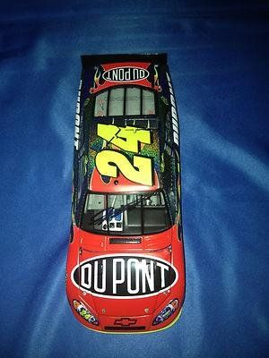 awesome JEFF GORDON SIGNED Autographed 2011 DUPONT FLASHCOAT 1/24 Diecast COA - Autographed Diecast Cars