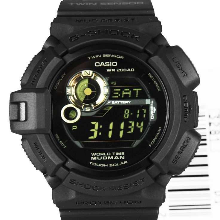 Chronograph-Divers.com - G-9300GB-1DR Casio G-Shock Mudman Black WR 200m Chronograph Mens Watch, S$178.93 (http://www.chronograph-divers.com/g-9300gb-1dr/)