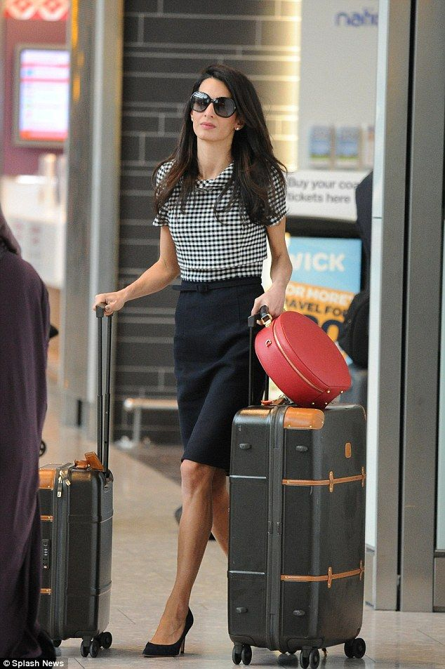 Amal Clooney home after being named most 'influential woman in London'   Daily Mail Online