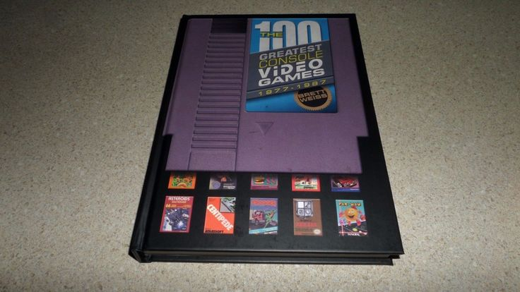 The 100 Greatest Console Video Games Book #nintendo #console #games #book #retrogaming #gamecollect #gamer #retro