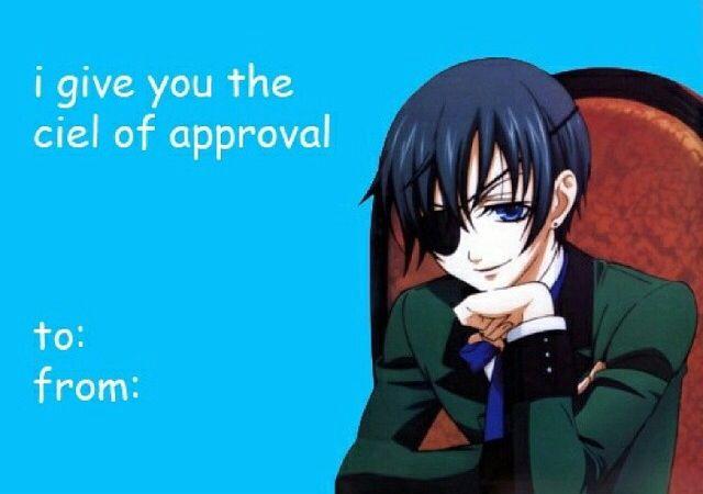 Anime valentine card Anime Valentine Cards – Anime Valentines Card