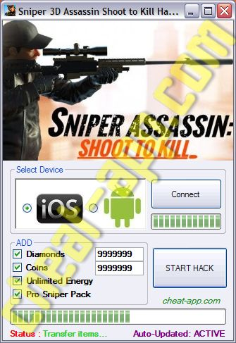 Sniper 3D Assassin Shoot to Kill Hack Telecharger Gratuit  Download: http://cheat-app.com/sniper-3d-assassin-shoot-kill-hack/