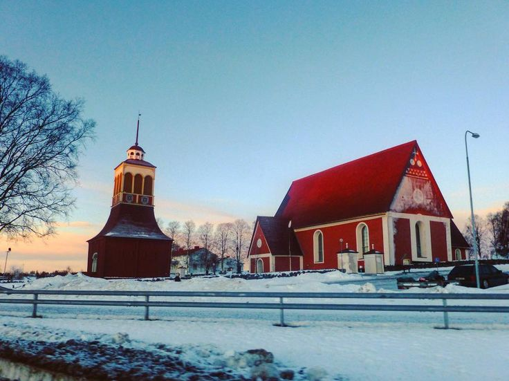 Church  Kalix Suède #architecture #archidaily #red #winter #sweden #igerssweden #igworldclub #ig_photooftheday #instagood #photooftheday #beautiful #instadaily #art #amazing #bestoftheday #travel #instago #all_shots #trip #travelgram #instatravel #traveling #travelling #tourism #travelingram #igtravel #mytravelgram #instatraveling #instapassport #visiting