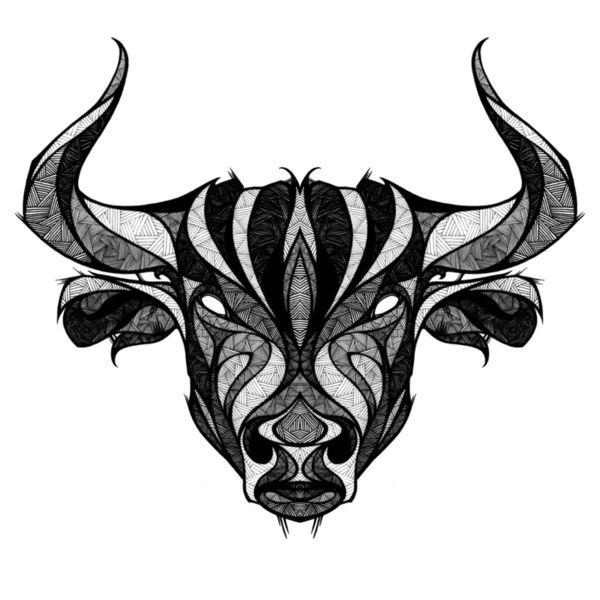 Signs of the Zodiac - Taurus Art Print by Andreas Preis | Society6