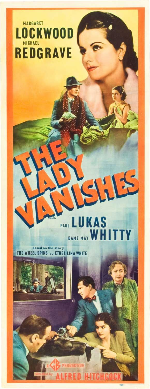 The Lady Vanishes (1938). Not film noir (my opinion) but poster fab enough to be on this board :)