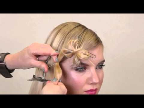 Long Hair Tutorial Step by Step to Flowers Lorna Evans Education - YouTube