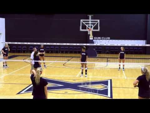 Learn a Great Defensive Drill for Volleyball! - Volleyball 2015 #48 - YouTube