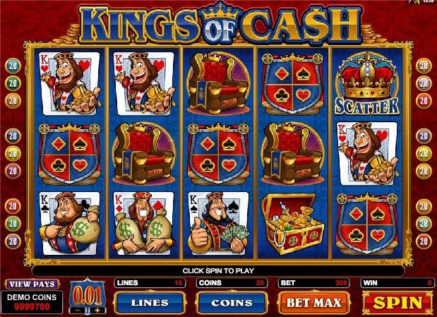 Деньги из казны в игровом автомате Kings of Cash - http://777avtomatydengi.com/dengi-iz-kaznyi-v-igrovom-avtomate-kings-of-cash