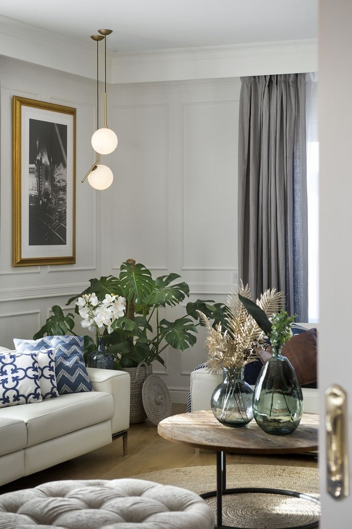 Modern Traditional Living Room Decor House Of Harper Modern