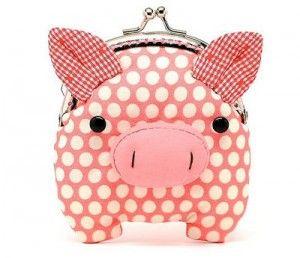 pig coin purse