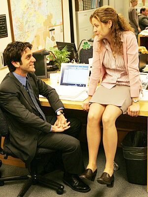 The office jim and pam learn morse code