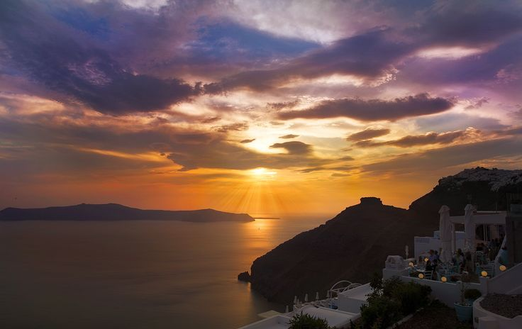 Santorini sunset by lilingjie17 on 500px