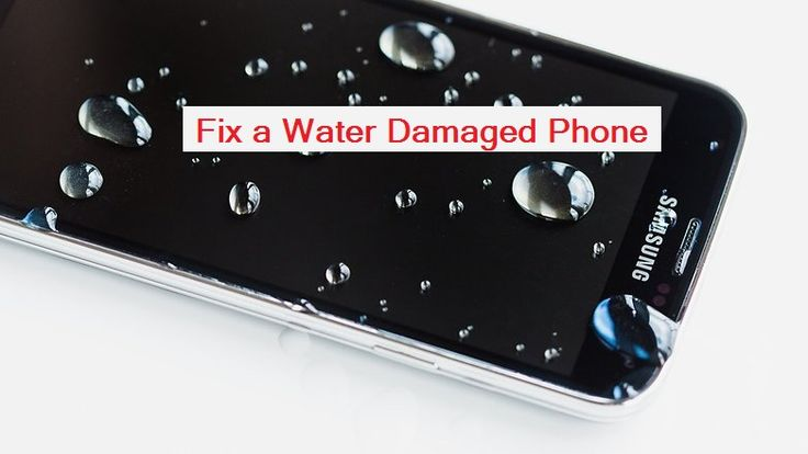 Did you your Android device or phone get wet? Here are simple tips and trick to recover your Android phone from water damage and you can fix a water damaged phone.