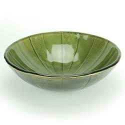@Overstock - Add a modern look to your bathroom with this vessel sink from Fontaine. A green envy design and a double-layered tempered glass complete this sink.   http://www.overstock.com/Home-Garden/Fontaine-Green-Envy-Glass-Vessel-Sink/6730735/product.html?CID=214117 $132.47