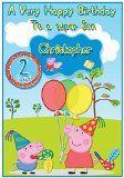 Personalised Peppa Pig Inspired Birthday Card