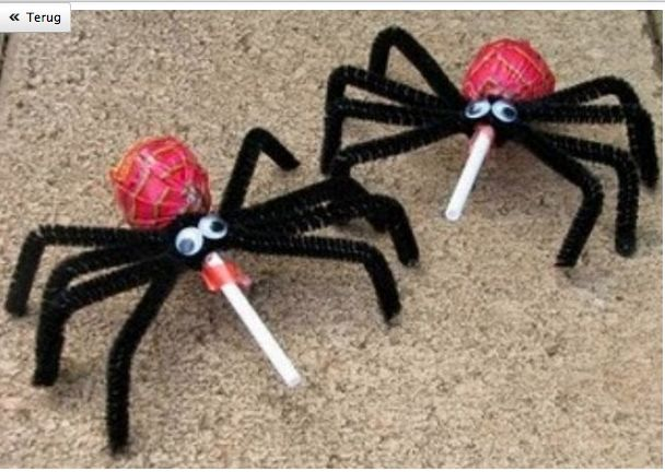 spider treat -stoere traktatie