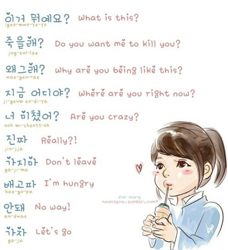 It's Time To Learn Hangul.