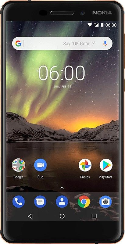 39ba1fe71 Nokia 6.1 4G 32GB Dual-SIM black copper EU in 2019