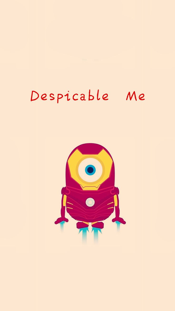Tumblr iphone wallpaper minions - 2014 Halloween Iron Man Minion Iphone 6 Plus Wallpaper Hd Despicable Me Iphone