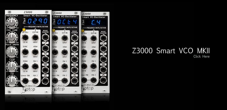 Tiptop Audio - Z3000: Smart Voltage Controlled Oscillator