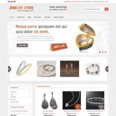 Jewelry Magento Template