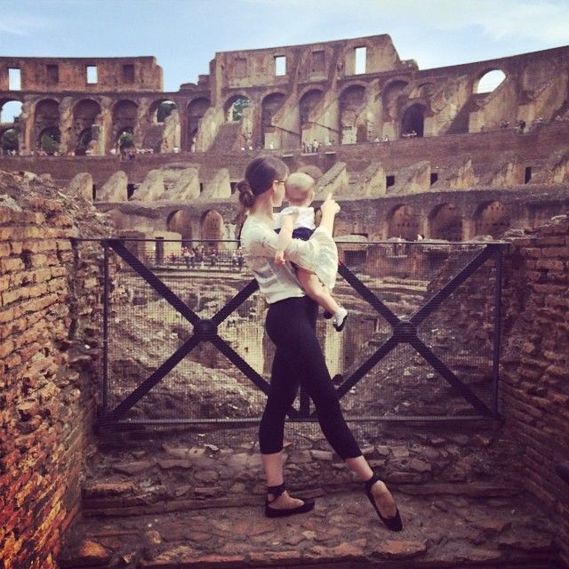 balletbeautiful Exploring the ancient beauty of the Colosseum with Lumina Belle! #Roma
