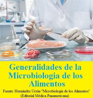 GENERALIDADES DE LA MICROBIOLOGÍA DE LOS ALIMENTOS  #Nutricion #Bioquimica
