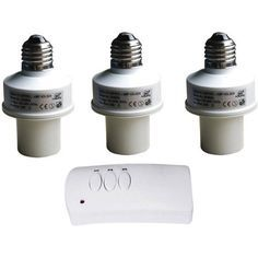 LED Concepts Remote Control Wireless Light Bulb Socket Cap Switch for Lamps - Walmart.com