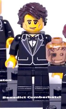 BENEDICT HAS A LEGO FIGURE MY WORLD IS NOW COMPLETE