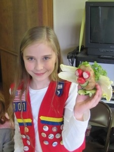 Great ideas for the Vegetable badge