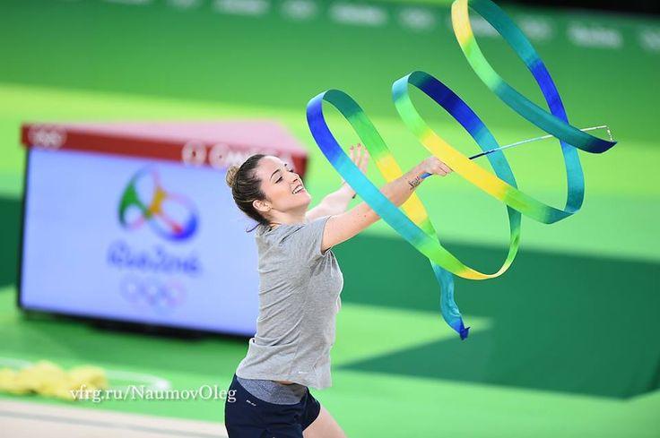 Natalia Gaudio (Brazil), backstage Olympic Games 2016