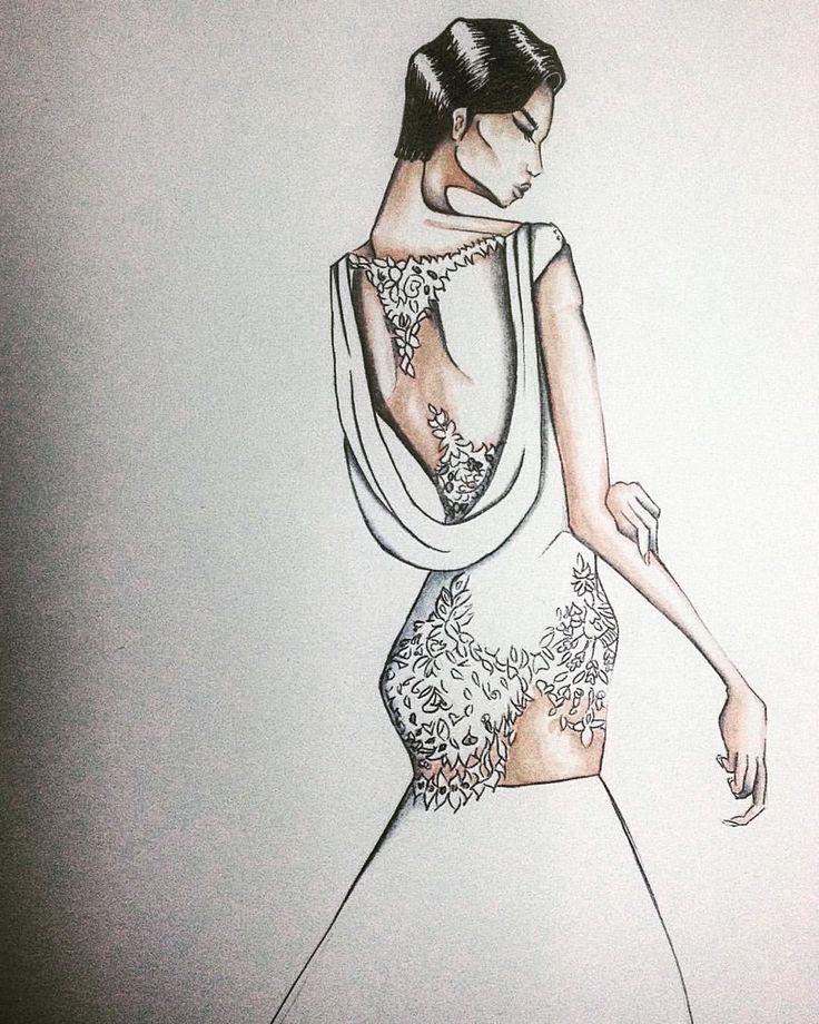 #giannimolaro #molaro #sposa #wedding #weddingdress #fashion #fashionart #illustration #fashionillustration #potd #instagram #moda