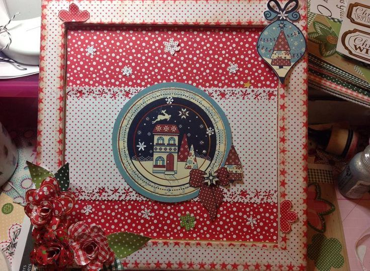 Nordic Winter and Evergreen Christmas Twist by Denise Holmes