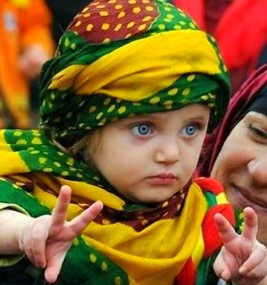 Kurdish girl.