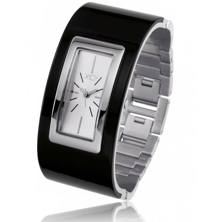 Ladies stainless steel GRAPHITE black watches - Xc38