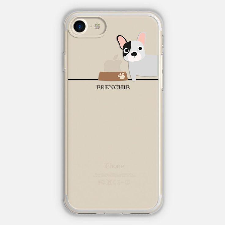 Frenchie (Black & White) Phone Case