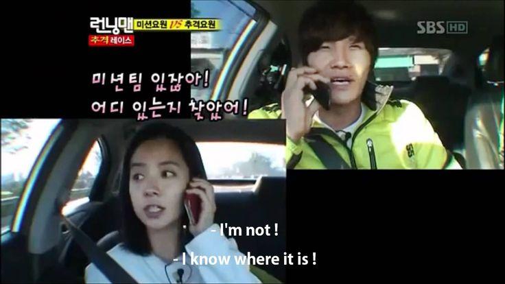 Ji Hyo and Jong Kook funny conversation