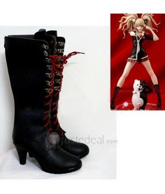 Danganronpa Trigger Happy Havoc Junko Enoshima Cosplay Boots - Cosplay Boots - Trustedeal.com