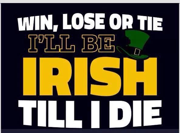 Go Irish! Be sure to visit and LIKE our Facebook page at…