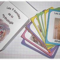 Voici un petit jeu de 7 familles basé sur la mythologie grecque. A quelques exceptions près, il est basé sur les personnages et lieux du Feuilleton d'Hermès.   Le fichier est composé de 42...