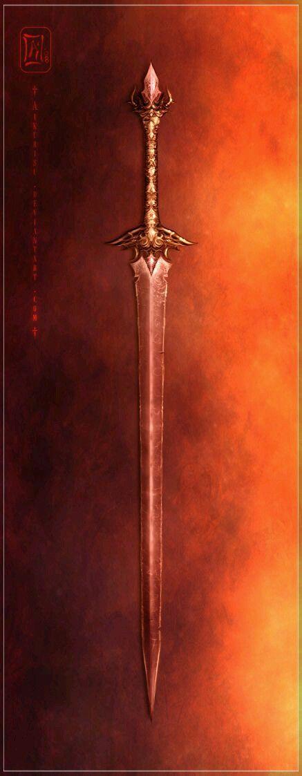 Ideia para item mágico (espada mágica)
